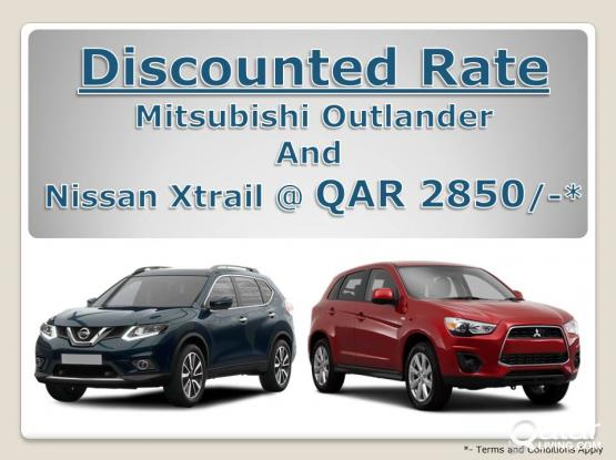 Nissan X-Trial for Rent.  Book it online now.