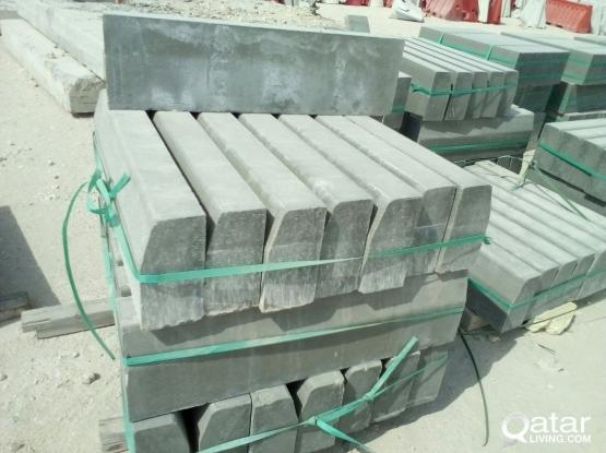 Interlock, carbistone, Iron & steel and murabba available