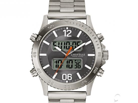 bulova caravelle new york  swiss watch