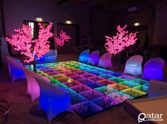 3D LED DANCE FLOOR استيج مضيئ