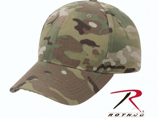 Men  Multi  Camo  Adjustable  Cap