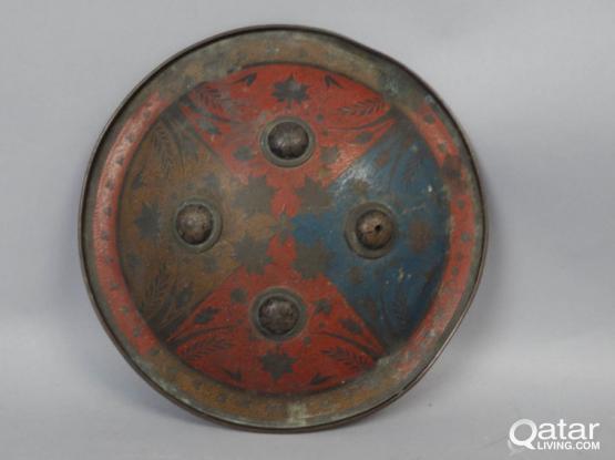 Antique Islamic Shield 1800s