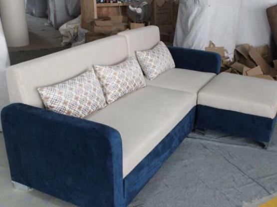 L shape sofa. stock clearing