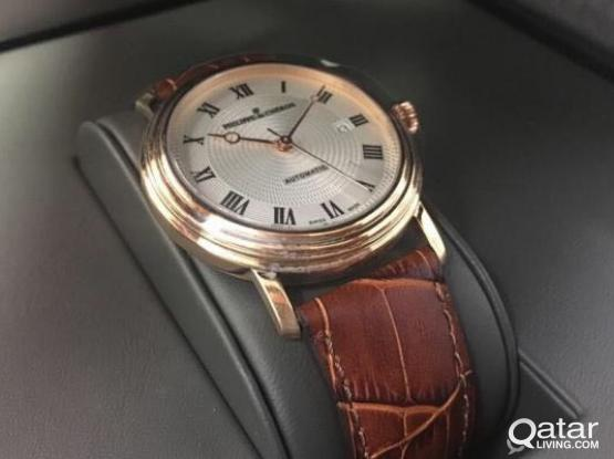 Philippe de Cheron 14k gold watch Brand New