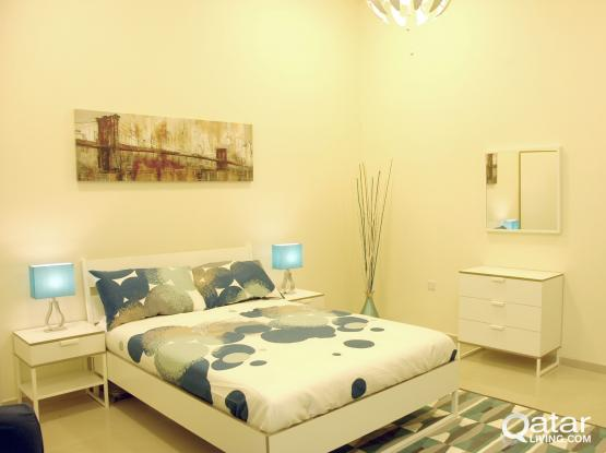 Furnished studio on the front of Al Hazm Mall