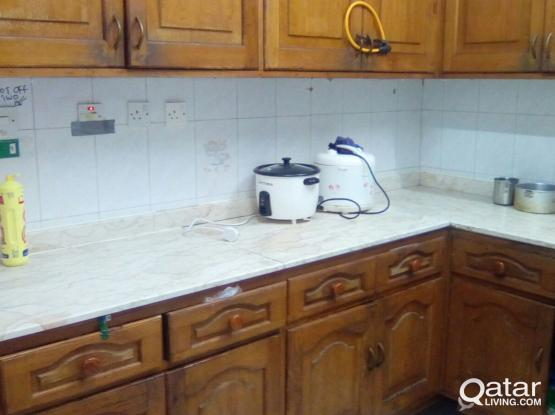 Only 1350 riyal nice fully furnished Room for Indian single exe