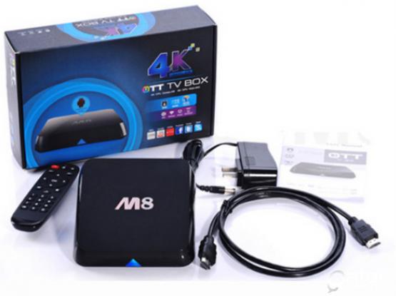 M8 4K  smart TVs box  (make your TV 4k Smart) android tv