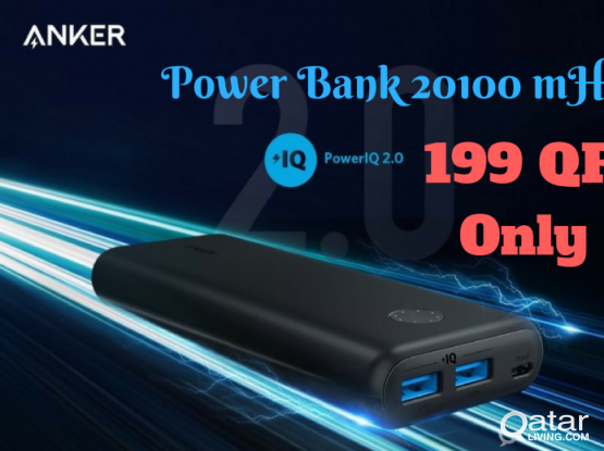 Anker power Bank 20100 mhz - New with 1 year warranty