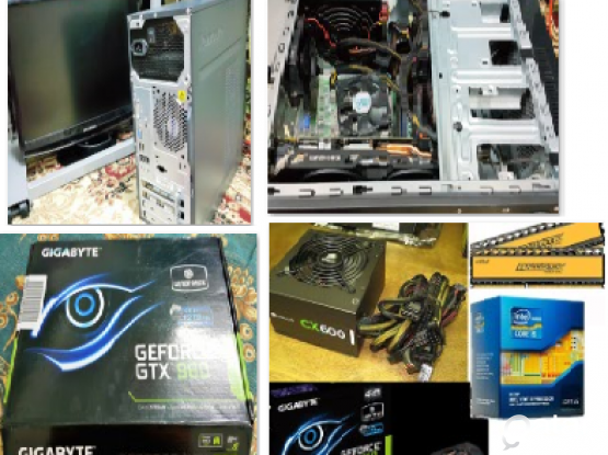 Gaming PC Desktop : nvidia core i5 4-core , nvidia gtx 960 oc, corsair 650 watt psu, 8 bal