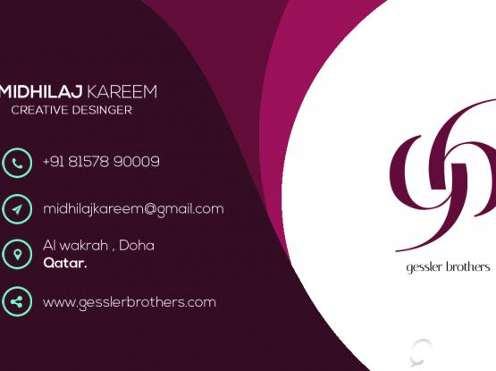 Business cards qatar living information reheart Choice Image