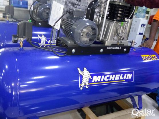 500 Ltr. 10 HP MICHELIN AIR Compressor for RENT