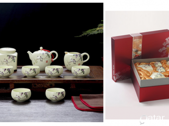 NEW CERAMIC KUNG FU TEA SET