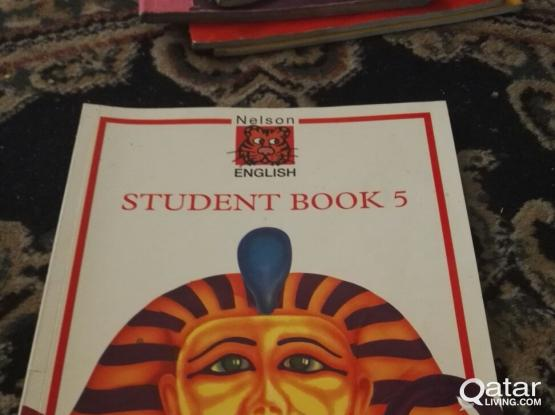 Educational school text books-used