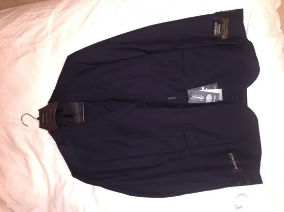 New armani suit, black