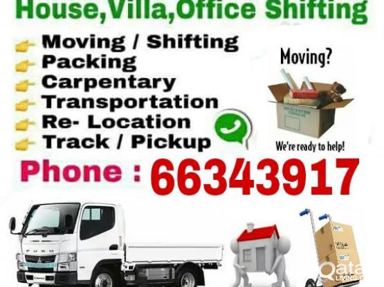 (Good Price) 66343917 Moving &  Shifting packing Carpenter Transportation Truck & Pickup Service