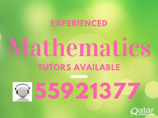 Mathematics (by experienced Teacher)- 55921377