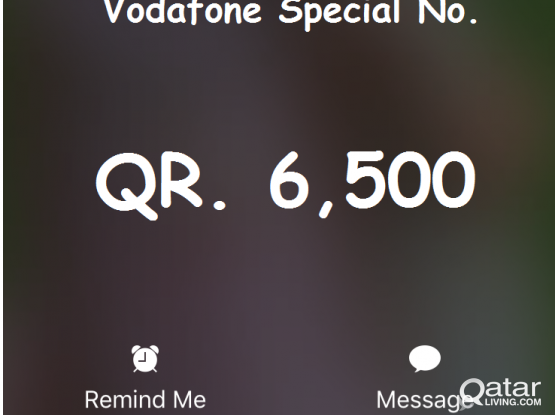Vodafone Special No. For Sale