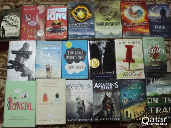 Young Adult and Adult popular books for sale.