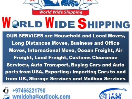 Movers, Shipping, Custom Clearance, Import/Export Cars and