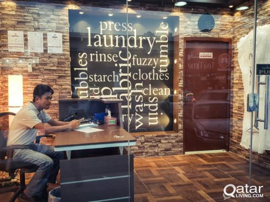 LAUNDRY -highly equipped for sale in old airport
