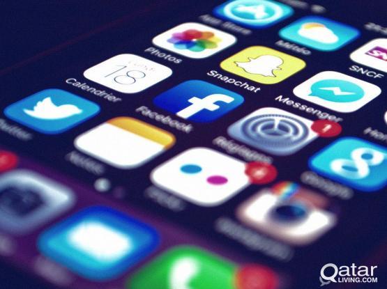 Social Media Marketing Web Designing 33013273