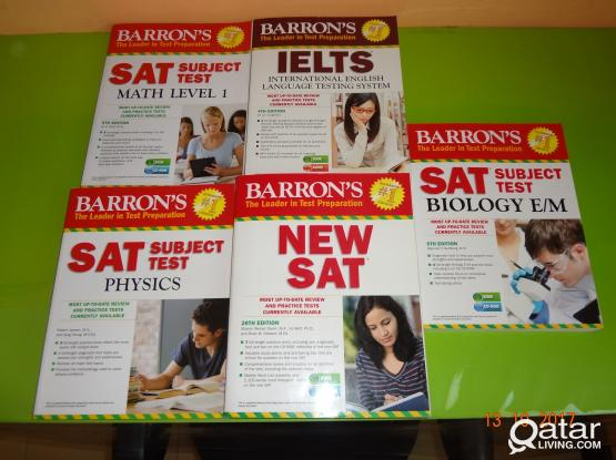 SAT & IELTS Books