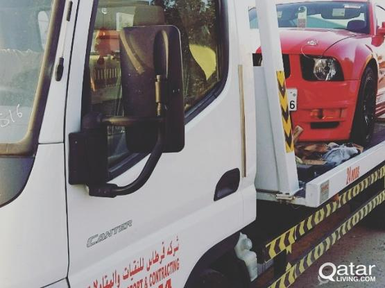 Qatar living breakdown Recovery towing call 31041144