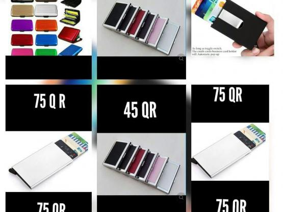 The Ultimate Slim aluminum wallet Capacity 7 cards