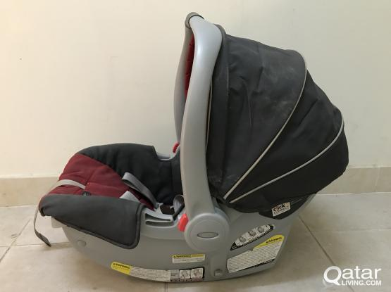 1 stroller baby and baby walker and Car seat