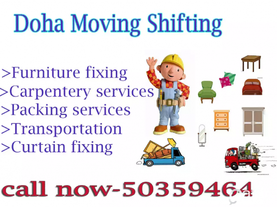 Professional Moving Shifting Service &  painter work A/C services