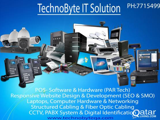COMPUTER SERVICE & NETWORKING, CCTV, PABX, SMATV, POS SYSTEM, WEB DESIGN, SEO  # 77154992.