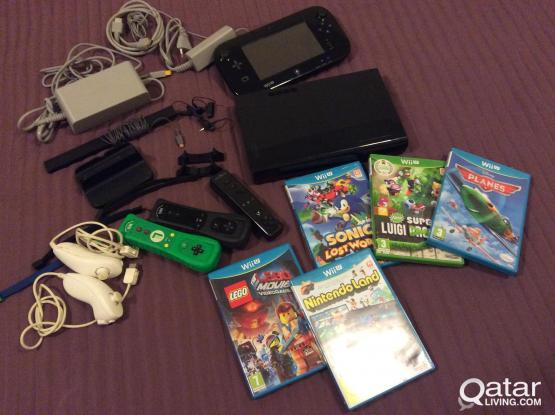 Wii U  32Gb full set.
