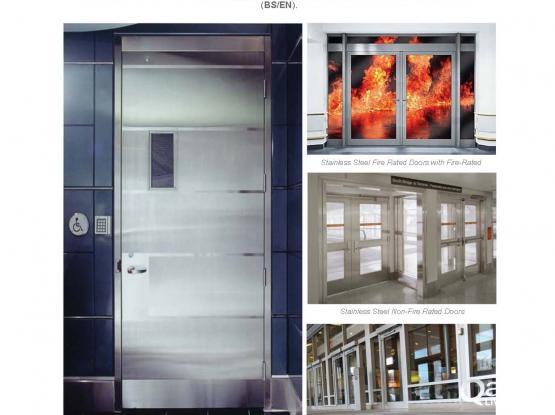 TECHNODOORS QATAR ,FIRE RATED DOORS, ACOUSTIC DOORS STEEL