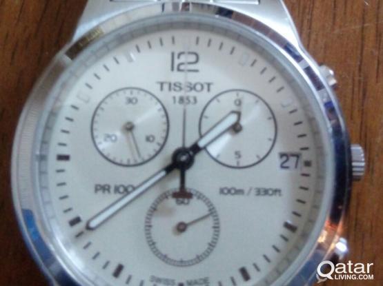 Tissot Men's Chronograph Steel Bracelet