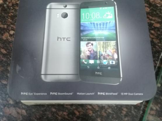 Swap or  sale HTC  m8 eye Grey 16gb box charger