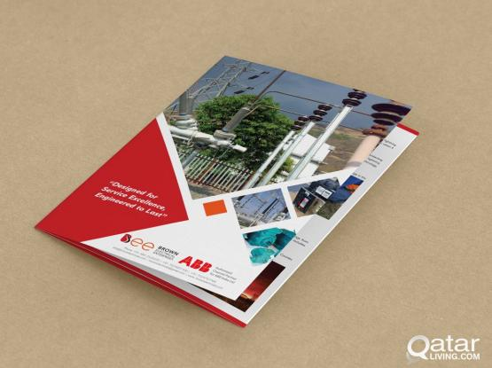 FREELANCE GRAPHIC DESIGNER (Brochure/Profile Desig