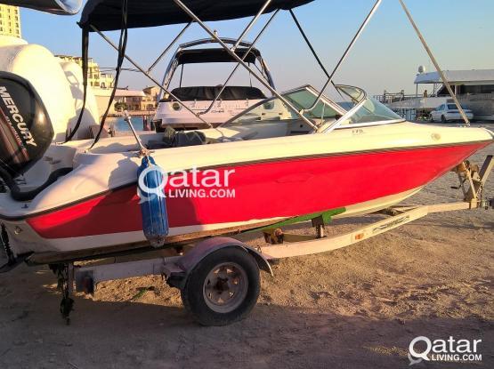 18ft Boat Searay - 2013 Mercury 150hp