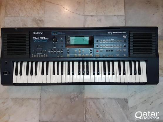 ROLAND EM50 Oriental Keyboard Synthesizer - Great Condition