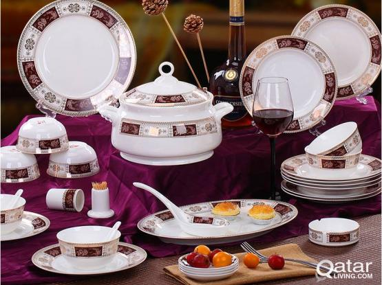 NEW CERAMIC TABLEWEAR SET