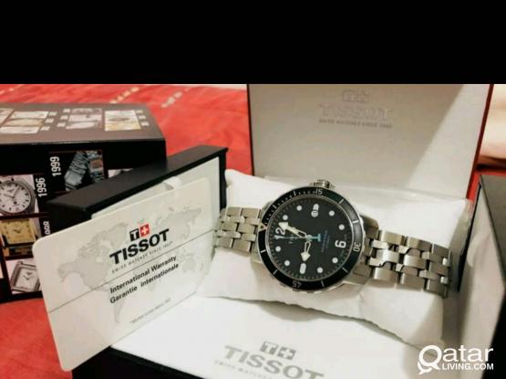 Tissot Seasta Diver Automatic Watch / 1000 ft