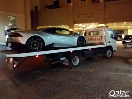 Car towing 24h in qatar call 70721144