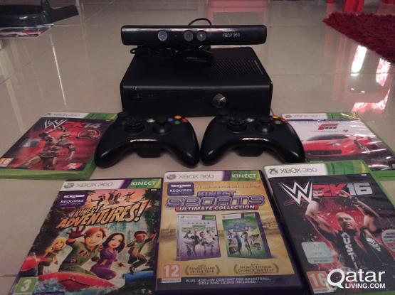 Xbox 360 4GB for sale plus with