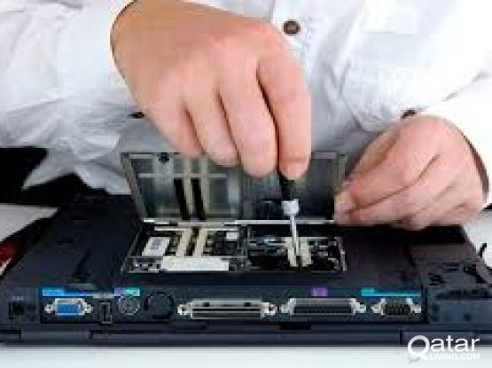 Laptop an desktop and computer all types of repair and services in Qatar DOOR STEP