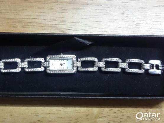 MICHEL HERBLIN DIAMOND LADIES WATCH