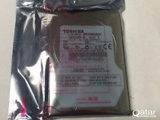 Hard drive for Laptops and Desktops 500GB