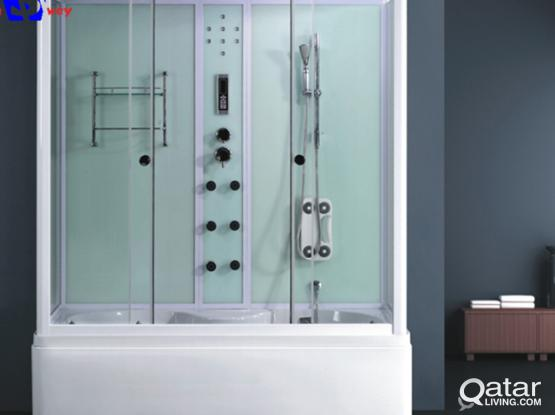 Complete shower box