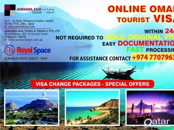 OMAN-QATAR-UAE-KUWAIT VISAS