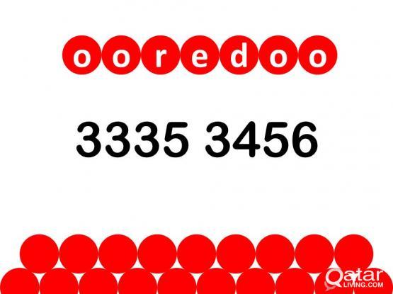 ooredoo special number 3335 3456