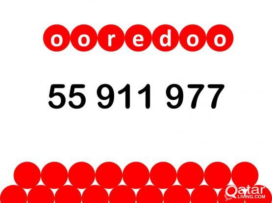 Ooredoo special number 55 911 977.