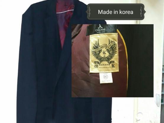 New Black Mens Coat